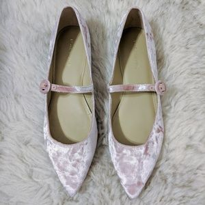 Marc Fisher Shoes - Marc Fisher Stormy 2 Velvet Mary Jane Pink